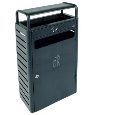 Напольная пепельница с секцией под мусор на 43 л JVD 8991172