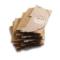 Бумажные фильтр-мешки (комплект 5 шт.) Karcher для WD 2