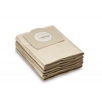 Бумажные фильтр-мешки (5 шт.) Karcher для WD 3  та WD 3 Battery