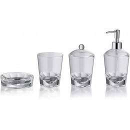 Набор принадлежностей для ванной комнаты KELA Leticia из 4 предметов