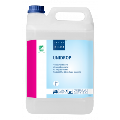 KIILTO UNIDROP 410443 Нейтральное универсальное чистящее средство 5 литров