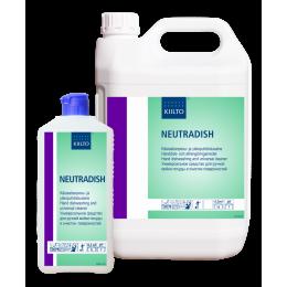 Универсальное средство KIILTO NEUTRADISH 205136 для ручной мойки посуды и очистки поверхностей 1 литр