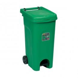Мусорный бак с педалью Stefanplast Urban Eco System 80 л