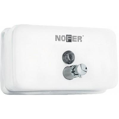 Белый диспенсер для жидкого мыла из нержавеющей стали Nofer 03002.W