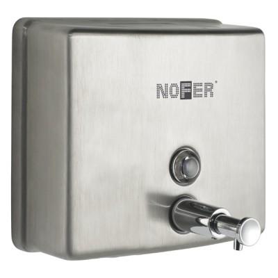 Дозатор для жидкого мыла Nofer 03004.S антивандальный матовый