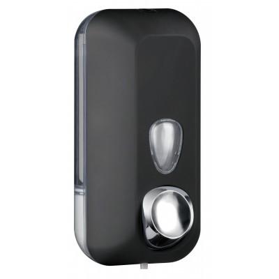 Черный диспенсер для мыла на 500 мл Nofer 03011.BK