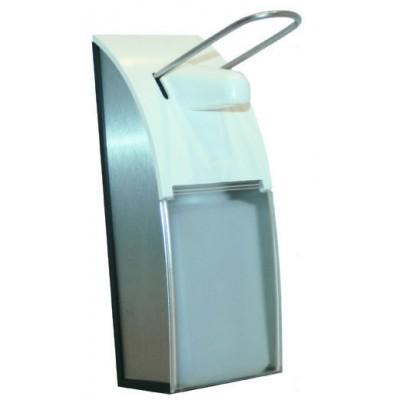 Дозатор для жидкого мыла Nofer 03013.S локтевой 500 мл матовый