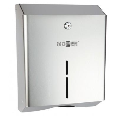 Диспенсер для бумажных полотенец Nofer 04010.B Антивандальный глянцевый