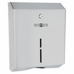 Диспенсер для бумажных полотенец Nofer 04010.S Антивандальный матовый