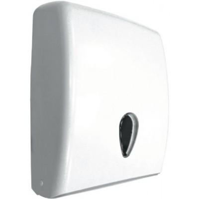 Диспенсер для полотенец Nofer 04020.W пластмассовый белый