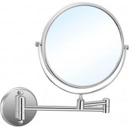 Двустороннее зеркало для ванной Nofer BRASS 08009.2.B