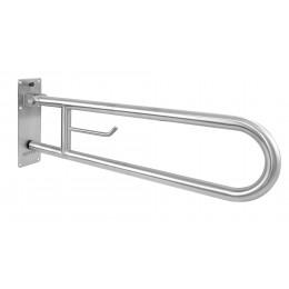 Вертикальный откидной захват Nofer 15051.80.B с держателем для туалетной бумаги