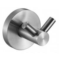 Крючок для ванной двойной NOFER NIZA матовый 16852.S
