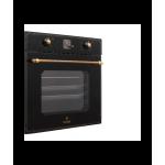 Встраиваемая электрическая духовка PERFELLI BOE 6645 BL ANTIQUE GLASS