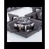 Поверхность газовая на стекле Perfelli HGG 61683 WH