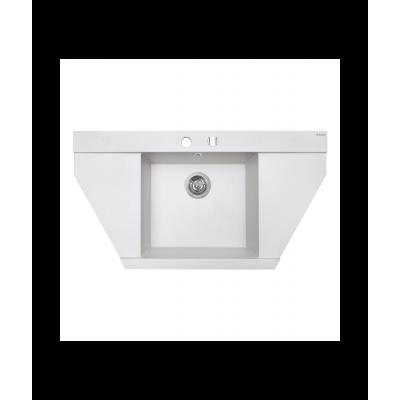Мойка кухонная гранитная Perfelli MAJESTIC TGM 125-96 WHITE
