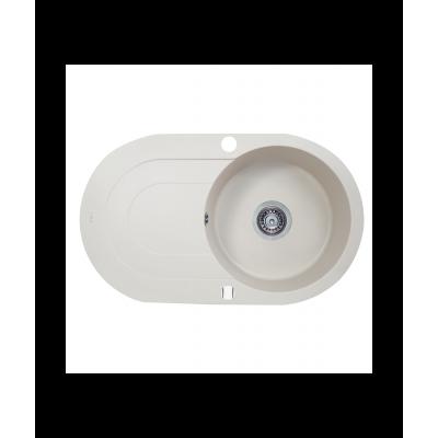 Мойка кухонная гранитная Perfelli ORVIETTO OGO 114-78 LIGHT BEIGE