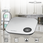 Весы кухонные Proficook PC-KW 1158 BT