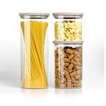 Емкость для хранения продуктов Stefanplast 55450 Tosca 1,2 коричневая круглая