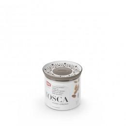 Емкость для хранения продуктов Stefanplast 55400 Tosca 0,7 коричневая круглая