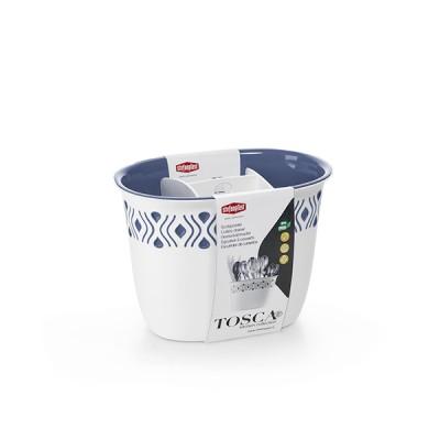 Емкость для столовых приборов Stefanplast 55701 Tosca голубая