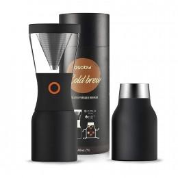 Кофеварка портативная 1,1 л Asobu Coldbrew KB900 black