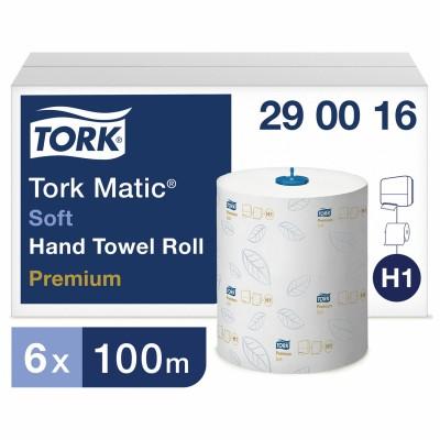 Полотенца в рулонах мягкие Tork Matic 290016