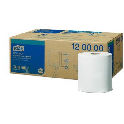Протирочная бумага Tork 120000 Reflex™ рулон с центральной вытяжкой
