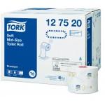 Туалетная бумага Tork 127520 Mid-size в миди-рулонах мягкая