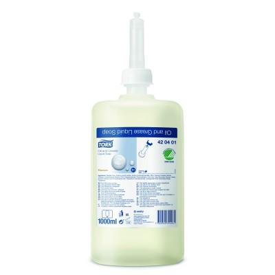 Жидкое мыло-очиститель для рук Tork 420401 от жировых и технических загрязнений (косметическое)