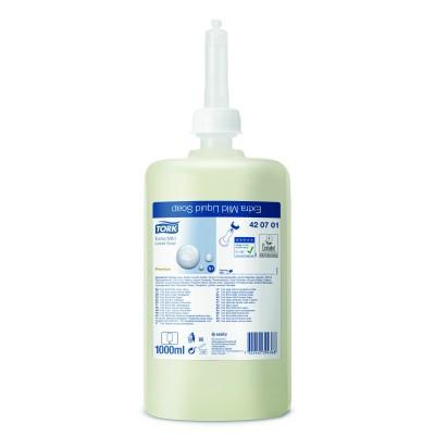 Жидкое мыло-крем ультра мягкое Tork 420701 (косметическое)