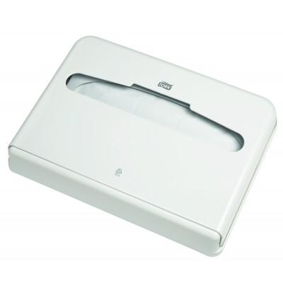 Диспенсер Tork 344080 для бумажных покрытий на унитаз V1