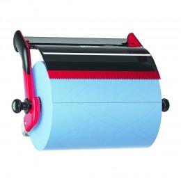 Настенный диспенсер Tork 652108 для материалов в рулонах, красный/черный
