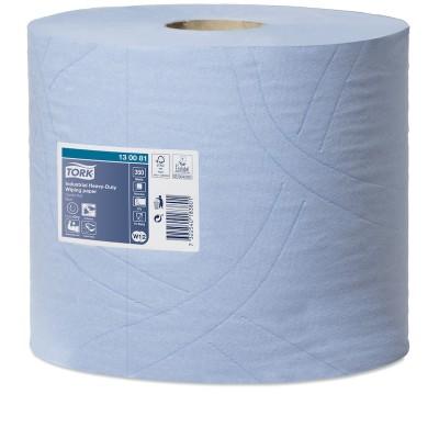 Протирочная бумага Tork 130081 повышенной прочности для удаления масла и жира