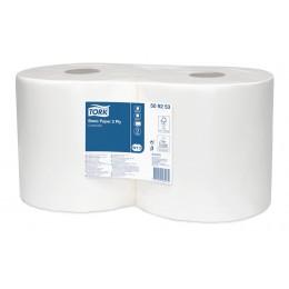 Базовая протирочная бумага Tork 509253 в малом рулоне, 2 слоя качество - Universal