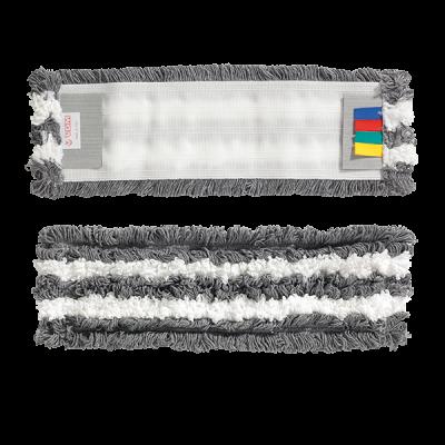 Моп плоский на зажимах VDM 3720/MF с микрофиброй 40x11 см