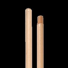 Рукоятка для швабры VDM 4019 деревянная с резьбой