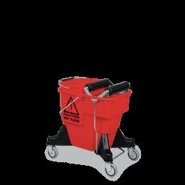 Тележка для уборки на колесах VDM 782178 Alex Combi с роликовым отжимом