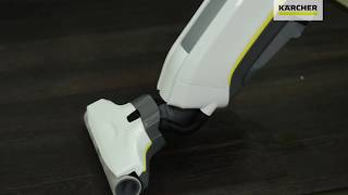 Видео обзор о поломойной машине для дома Karcher FC 5 Premium