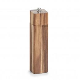 Мельница для соли/перца Zeller 25568, акация, 5x5x21,3 см