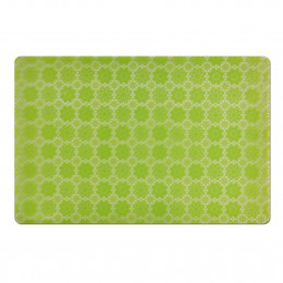 """Коврик под тарелку ZELLER 26907 """"Цветы"""", 43,5х28,5см, зеленый, пластик"""