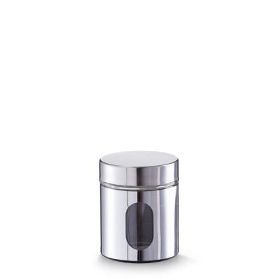 Банка для продуктов Zeller 19945 круглая, 500мл, Ø10,2x12,5 см, металл/стекло