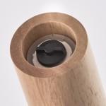 Мельница для соли/перца Ø5,4x15,4 см Zeller 24804 каучук, белый