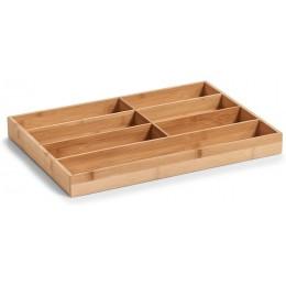 Поддон для столовых приборов Zeller 25349 бамбук, 44 х 30,6 х 4,3 см